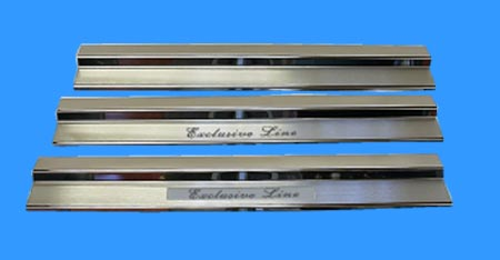 Stainless steel tread plates